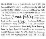 Grand Valley State Travel Mug