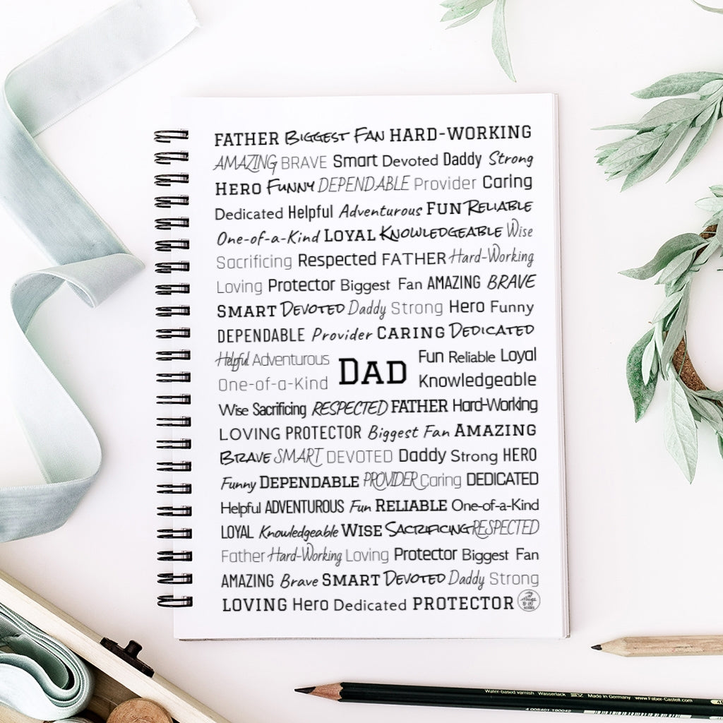 Father's Day Spiral Notebook