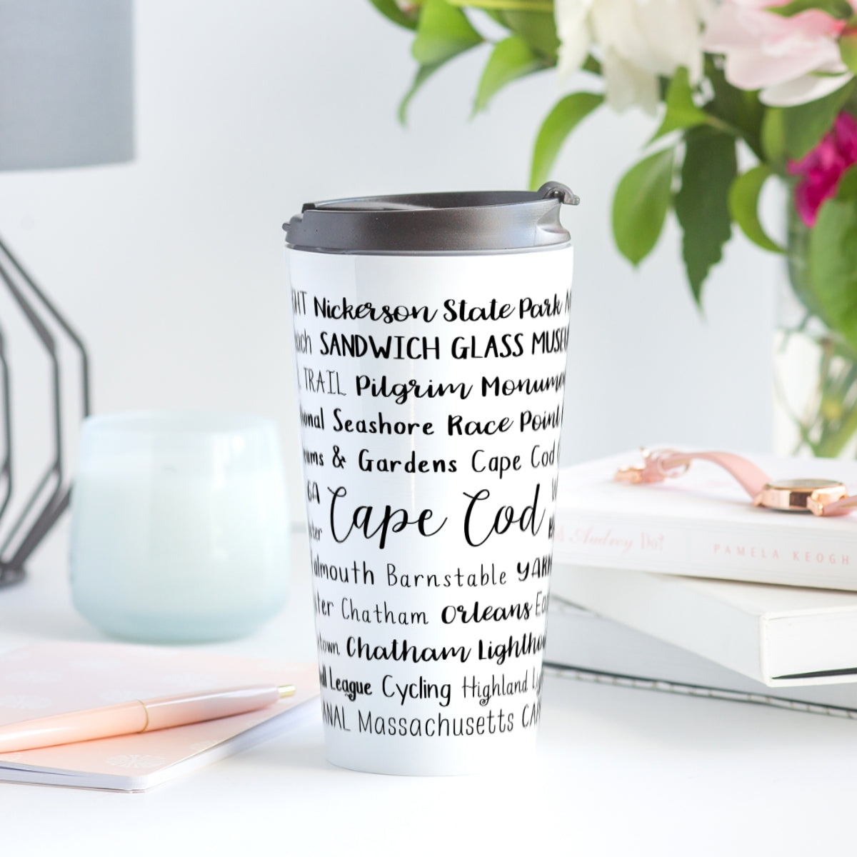 Cape Cod, MA Travel Mug