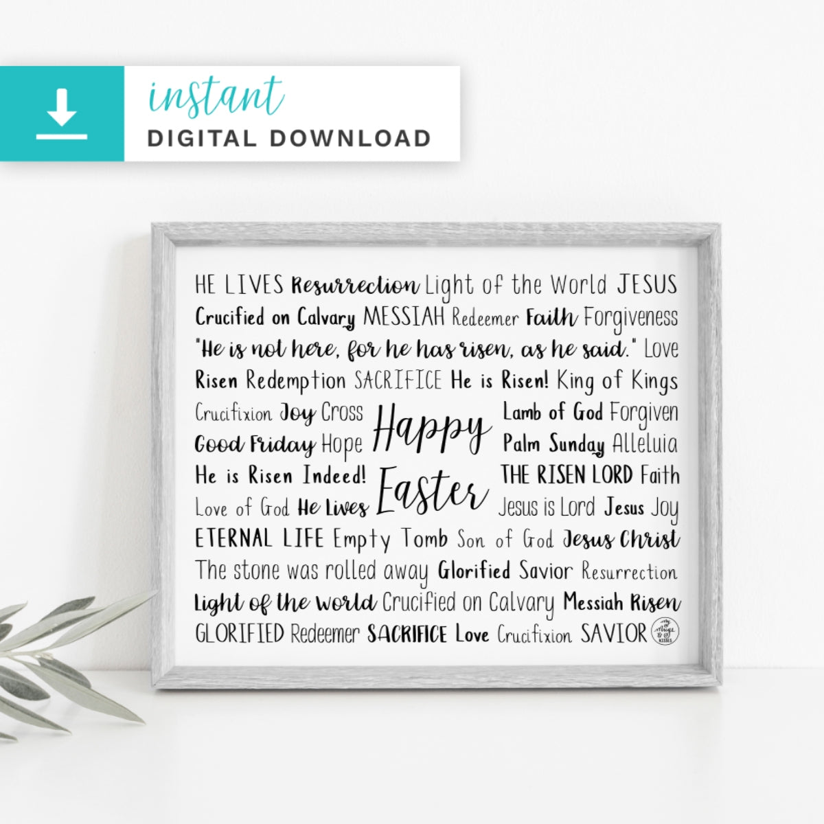 Easter Digital Download