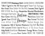 Baton Rouge, LA Digital Download