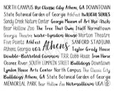 Athens, GA Digital Download