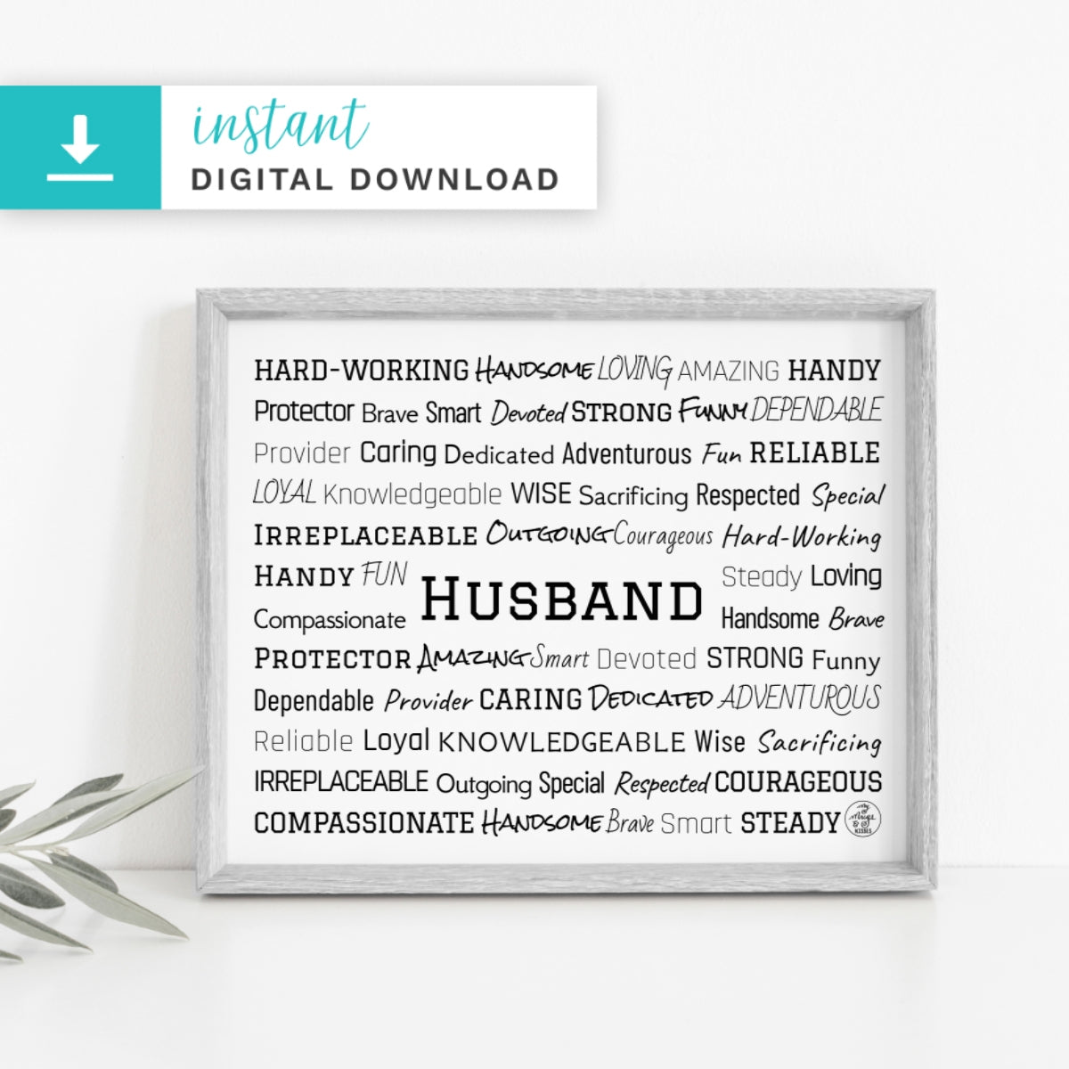 Husband Digital Download