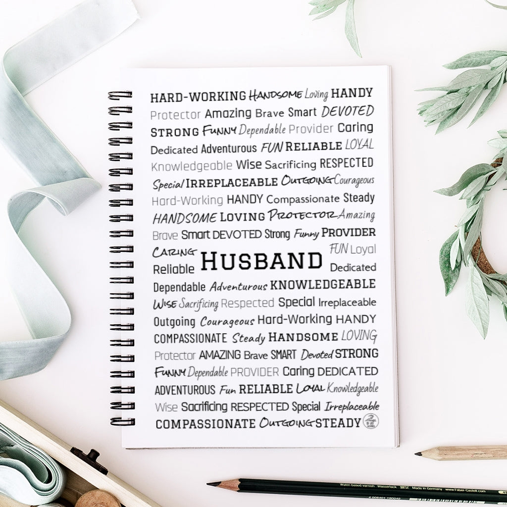 Husband Spiral Notebook