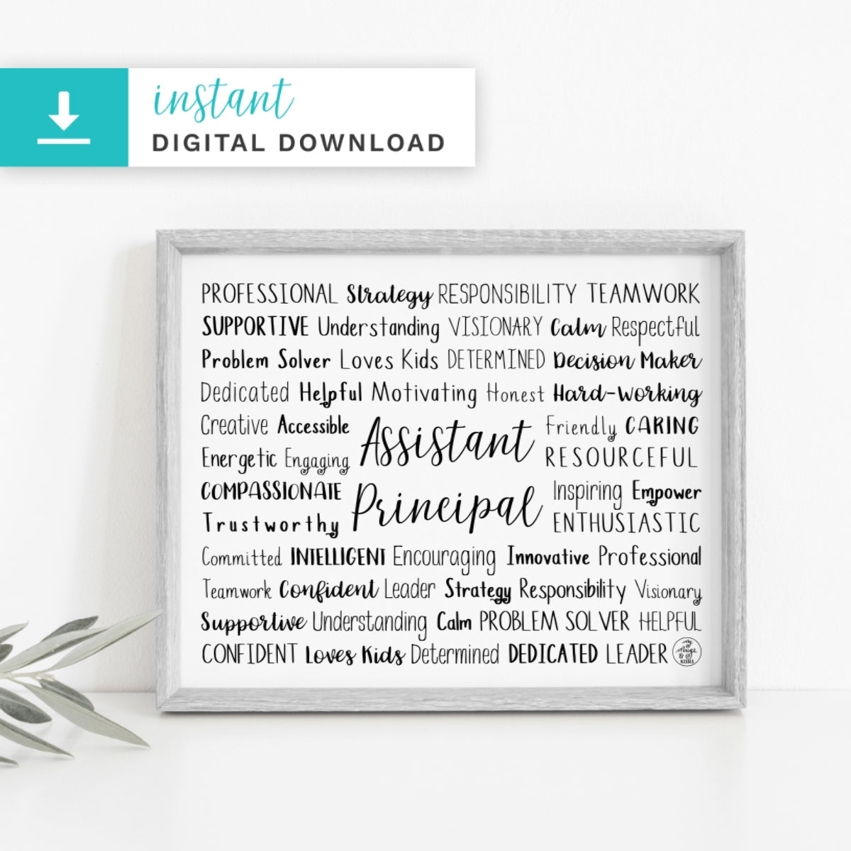 Assistant Principal Digital Download