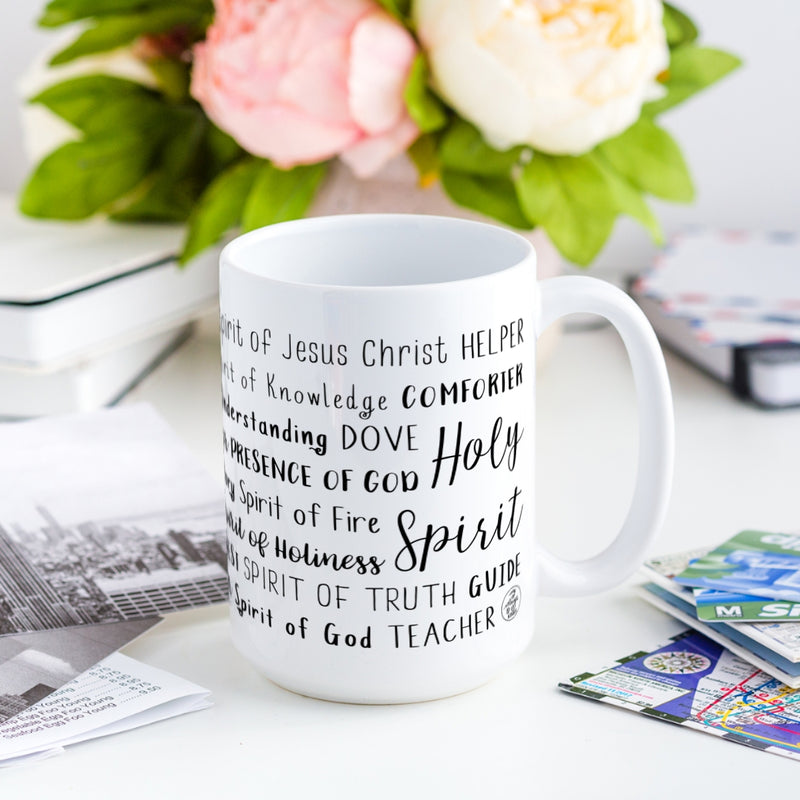 Names of the Holy Spirit Mug