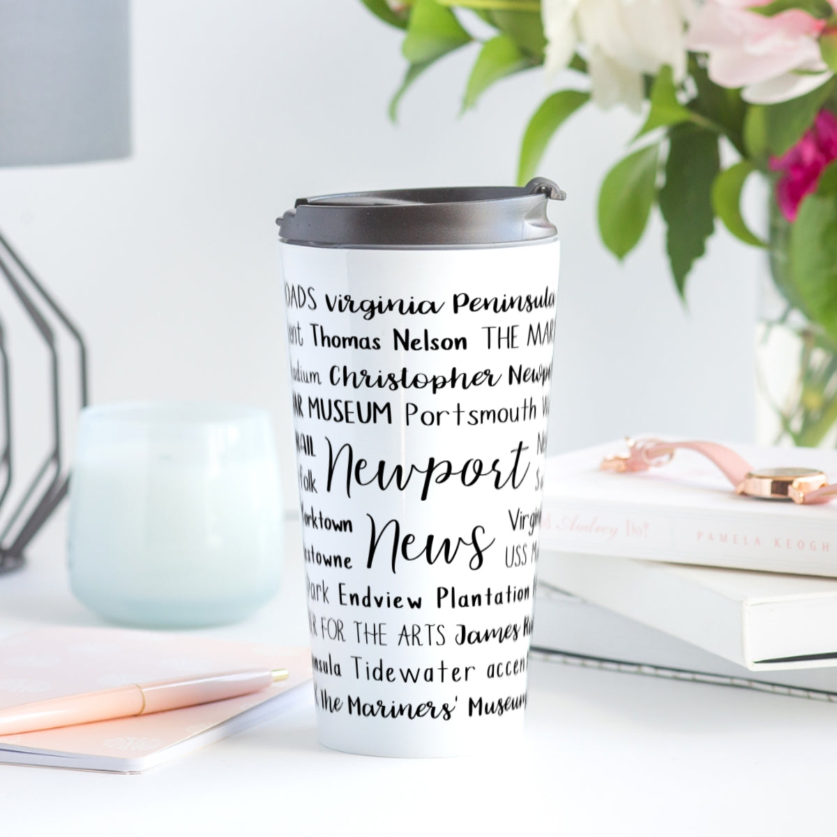 Newport News, VA Travel Mug