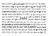 Light Scriptures Tumbler