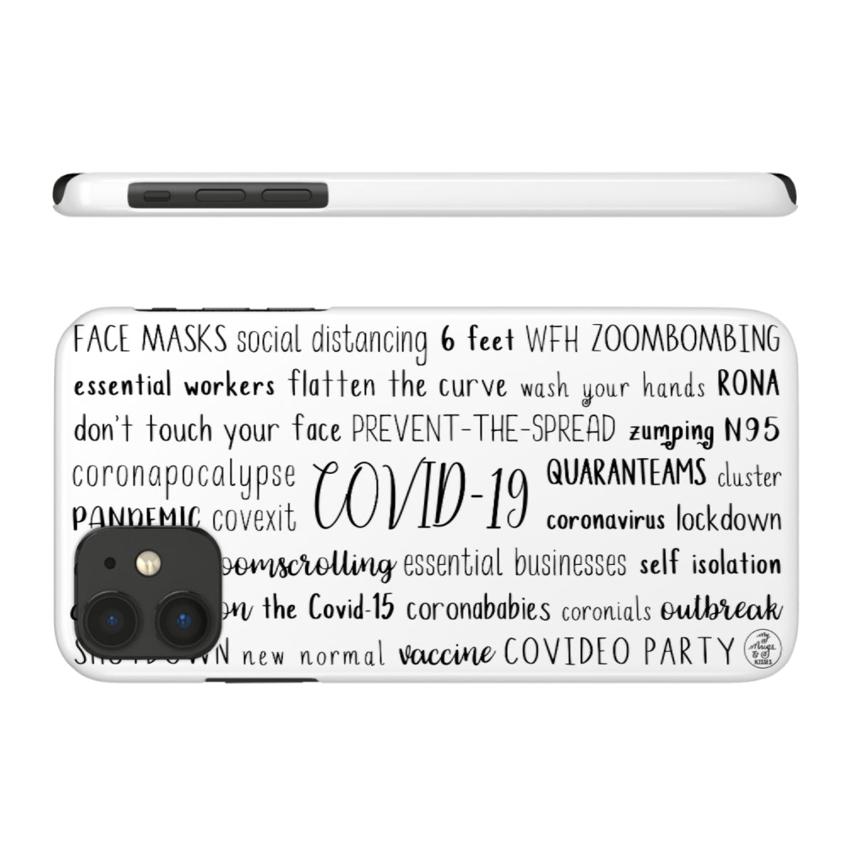 COVID-19 iPhone Case