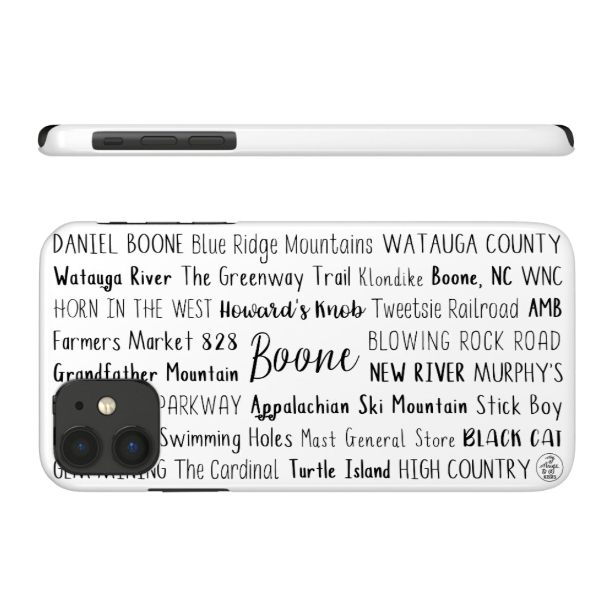 Boone, NC iPhone Case