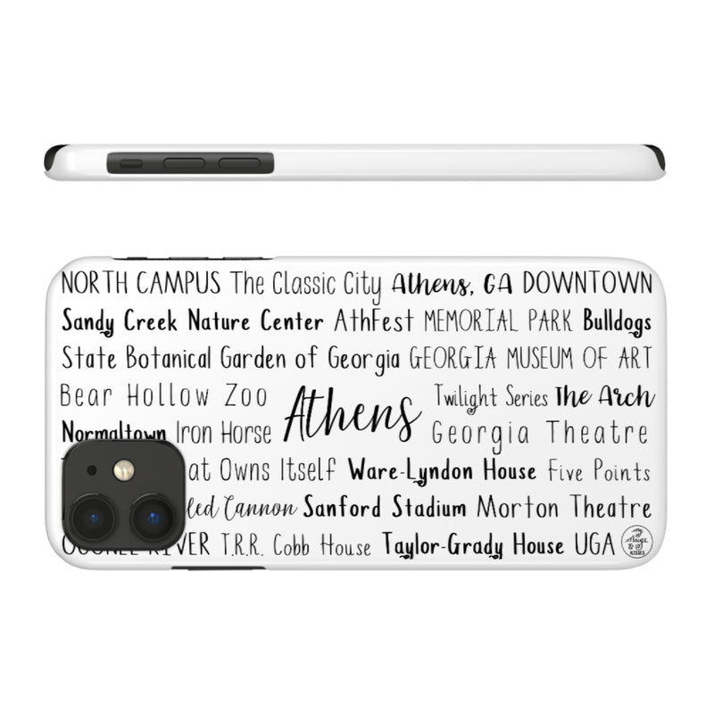 Athens, GA iPhone Case