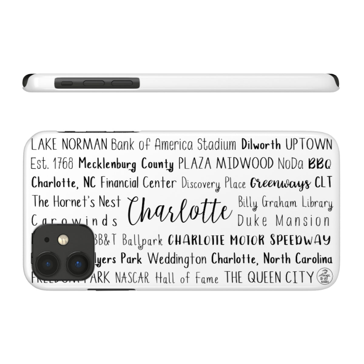 Charlotte, NC iPhone Case