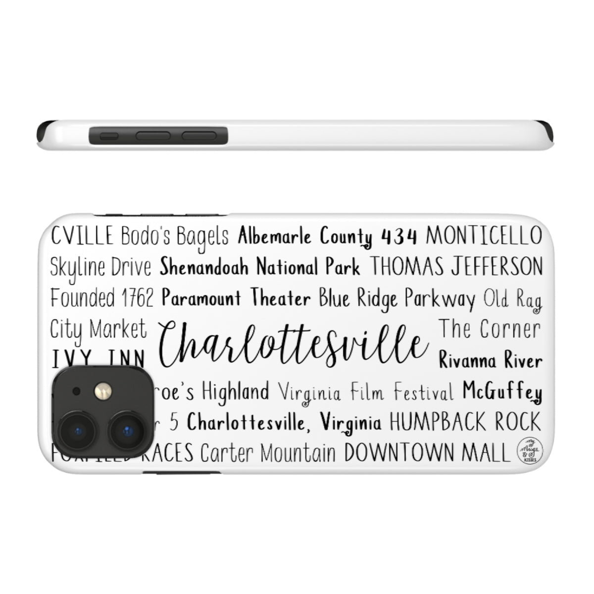 Charlottesville, VA iPhone Case