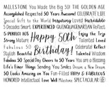 50th Birthday Digital Download