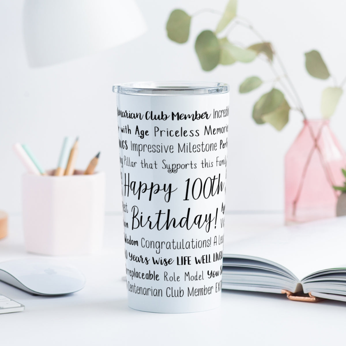 100th Birthday Tumbler