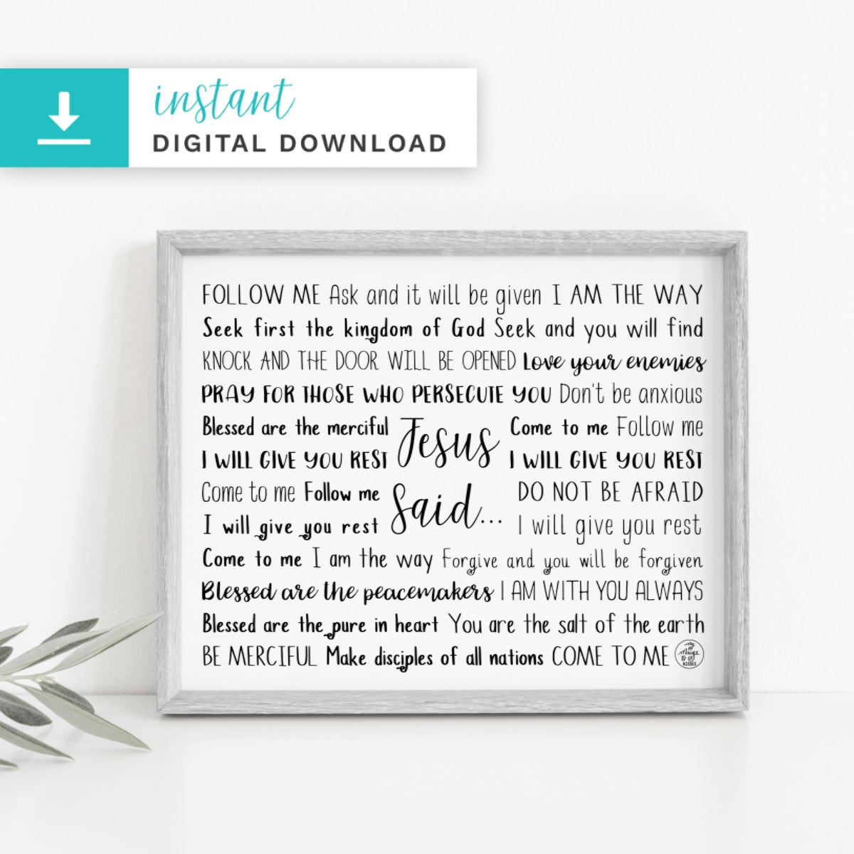 Jesus Said Digital Download