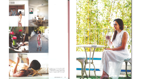 Anna Magazine Japan feature on Ana Dahlman Sunshine Dreaming