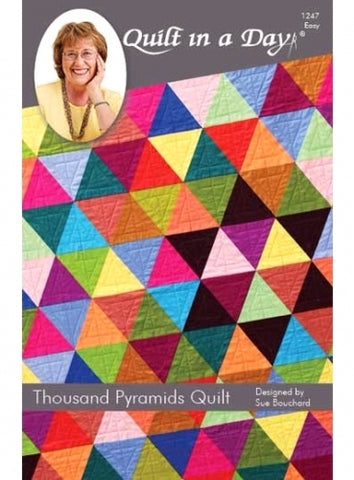 Eleanor Burns Thousand Pyramids Quilt Pattern by Quilt in Day