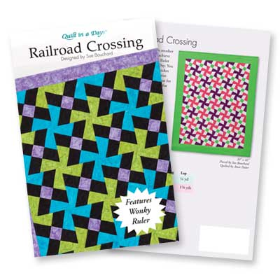 Quilt in a Day QND1248 Railroad Crossing Ptrn