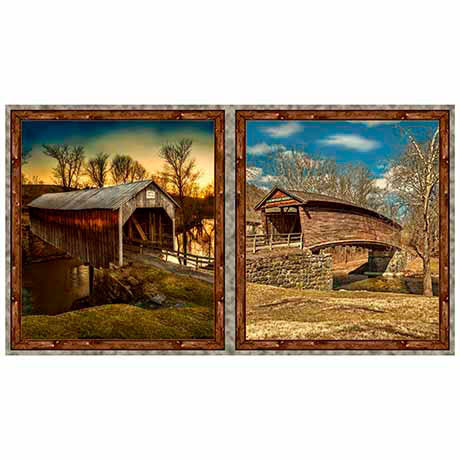Quilting Treasures Artworks Vii Covered Bridges