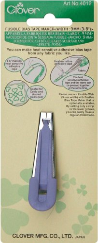 Clover Fusible Bias 3/8-Inch Tape Maker, 1 EA