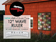 "Creative Grids 12"" Wave Ruler Quilting Template CGRWAVE"