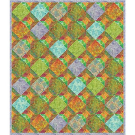 Sherbet Delight Quilt Pattern by Purrfect Spots