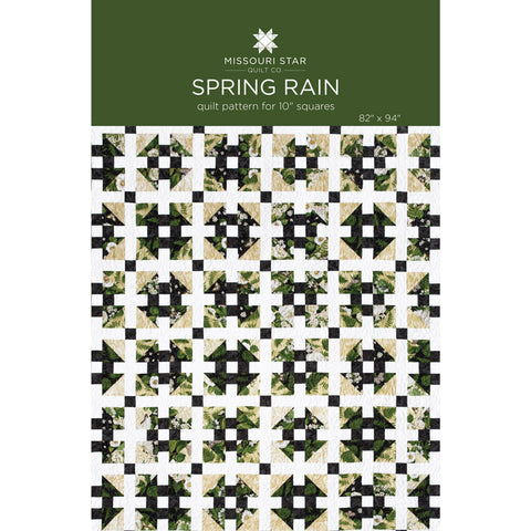 Spring Rain quilt pattern, by Missouri Star