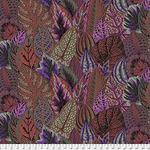 Free Spirit Fabrics Kaffe Fassett Fall 2017 Collective Dark Coleus