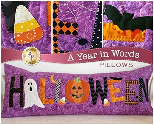 A Year in Words- Halloween Pillow Pattern