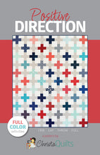 Christa Quilts Positive Direction Quilt Pattern 4 Sizes