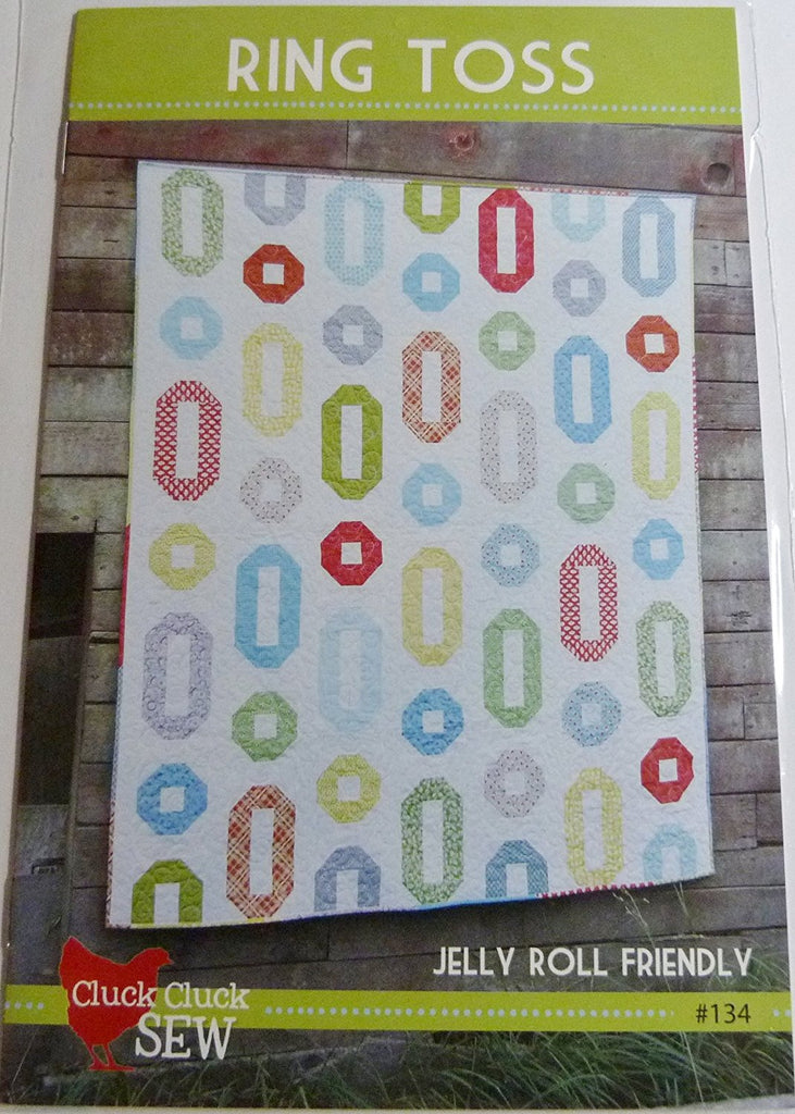Ring Toss by Cluck Cluck Sew. Quilt Pattern