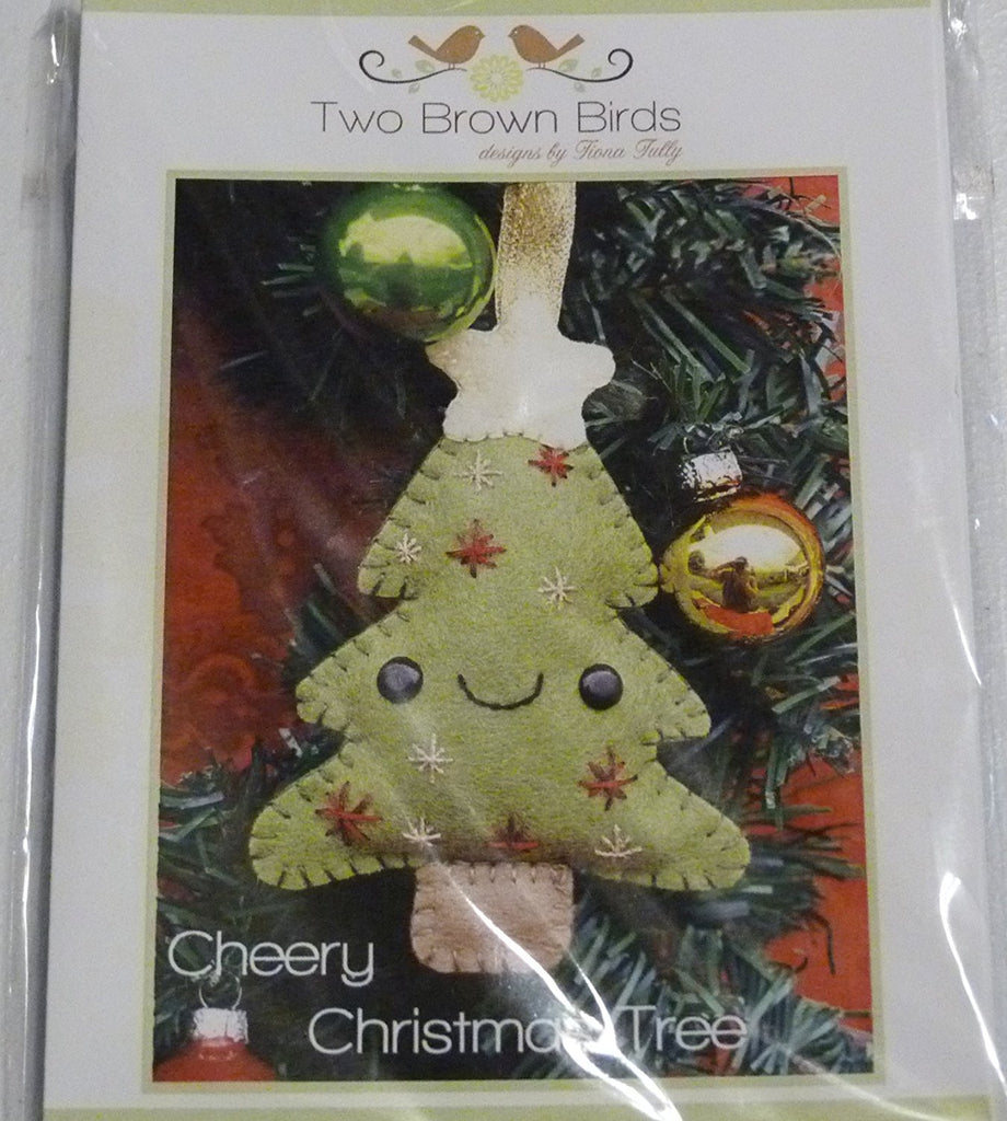 Cheery Christmas Tree Pattern by Two Brown Birds