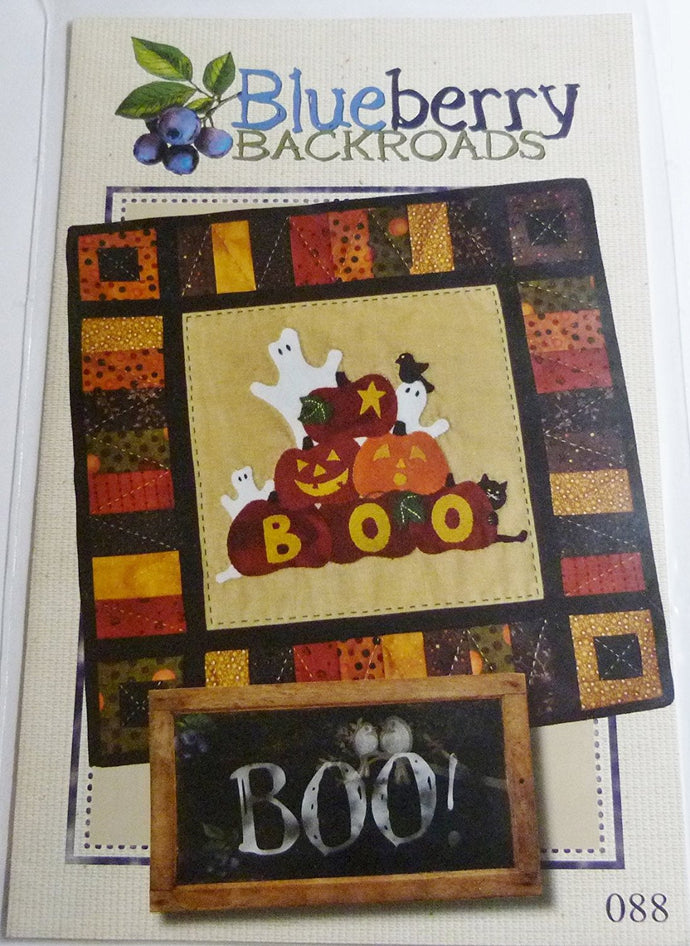 Boo, From Blueberry Backroads.Quilt Pattern