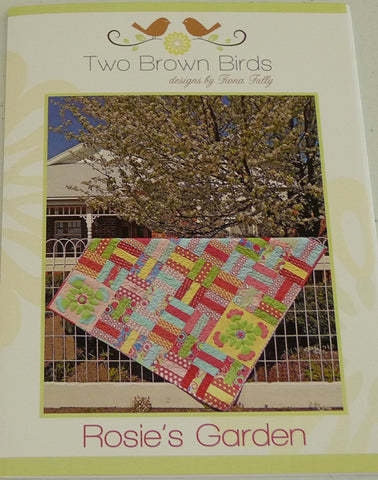 Rosie's Garden by Fiona Tully for two Brown Birds