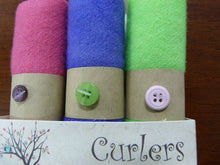 "Wool Curlers 4"" x 16""Mints by In The Patch Designs"