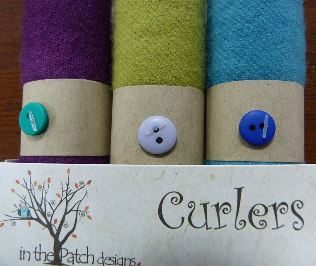 "Wool Curlers 4"" x 16"" Rhapsody In The Patch Designs"
