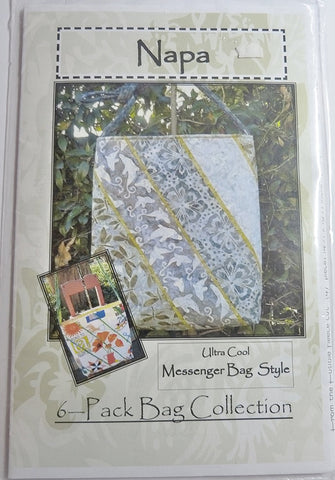 Napa Messenger Bag Style Pattern by Stephanie Prescott.A Quilter's Dream.