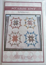 Starburst By Melissa Corry of Happy Quilting