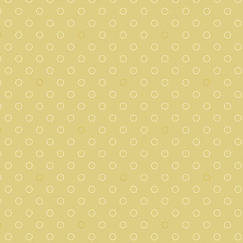 Andover 0593499 Spots and Dots Biscotti Fabric Yard