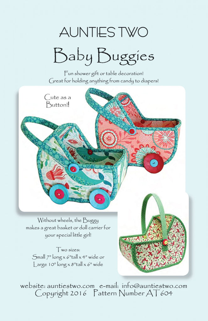 Aunties Two Baby Buggies Pattern