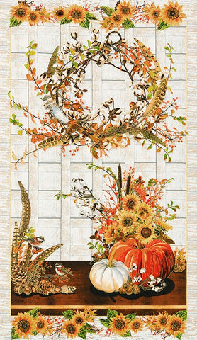Robert Kaufman Shades of the Season 11 Harvest Cornucopia Panel 23 Inch