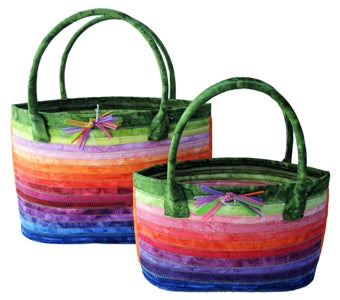 Aunties Two Patterns Cats Eye Baskets