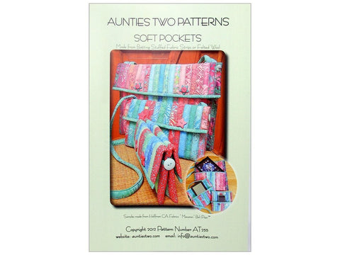 Aunties Two Patterns Soft Pockets
