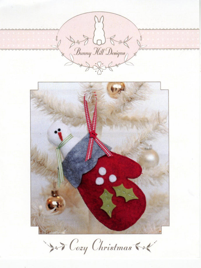 Bunny Hill Designs -cozy Christmas Pattern
