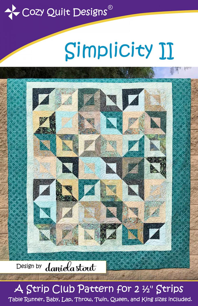 Cozy Quilt Designs CQD01188 Simplicity II Pattern