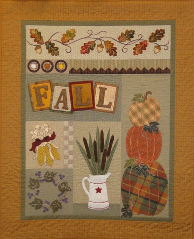 """Fall""  Wool Pattern  by The woolen needle"