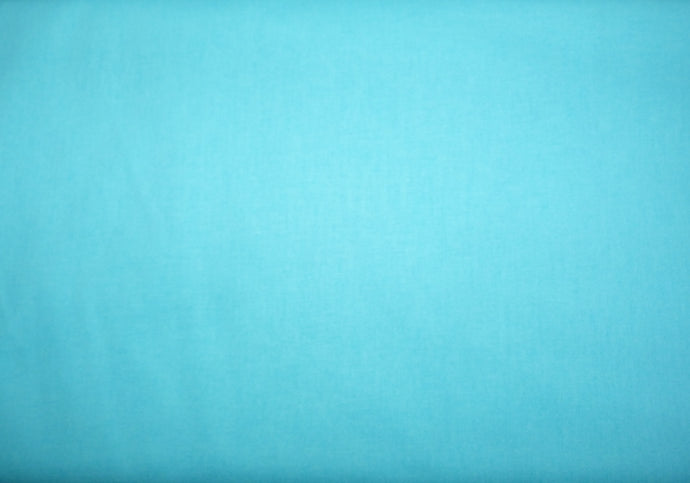 Clothworks Fabrics American Made Brand Cotton Solid Turquoise
