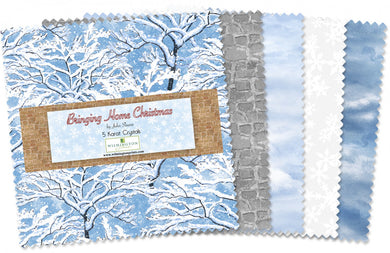 5in Squares Bringing Home Christmas 42pcs