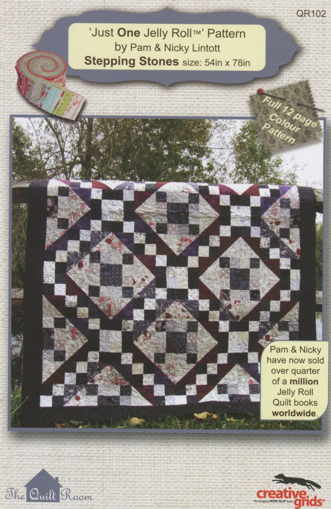 Stepping Stones - Just One Jelly Roll by Quilt Room